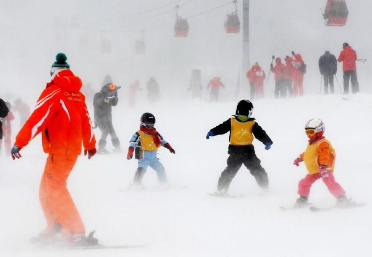 По Китаю на лыжах2