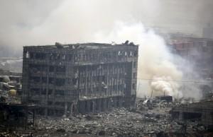 По делу взрывов в Тяньцзине арестованы 12 человек