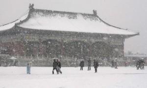После праздника затруднена перевозка пассажиропотока из-за снегопадов