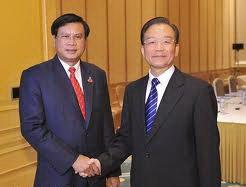 Посол Лаоса в Китае