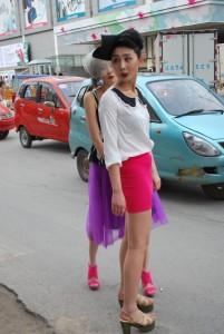 Повседневная китайская мода2