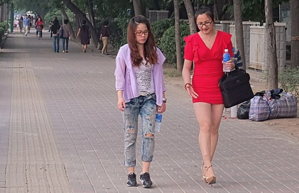 Повседневная китайская мода3