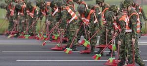 Повышение за похудение китайским солдатам поставлено условие