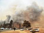Пожар из Забайкалья перекинулся на территорию Китая