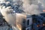 Пожар на обувной фабрике в КНР стал причиной гибели 16 человек