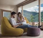 Преимущества бескаркасной мебели
