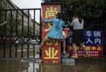 Проливные дожди в Китае едва не смыли город с 10 миллионным населением