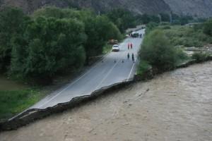 Разрушительное наводнение затронуло провинцию Синьцзян