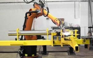 Китай Роботизированную линию по производству промышленных роботов запускают в Китае