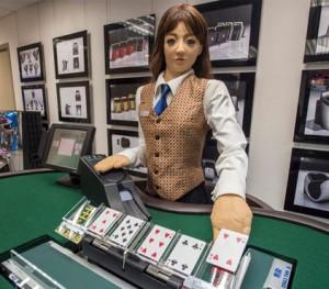 Роботизация в казино Макао