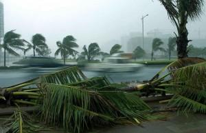 Российский МИД предупреждает о приближении тайфуна на курортный Хайнань