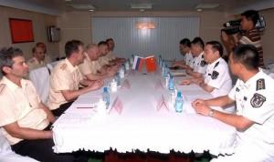 Российский и Китайский флот провели совместные учения