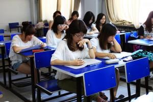 Русские и китайские студенты