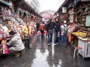 Рынок Ябаолу в Пекине