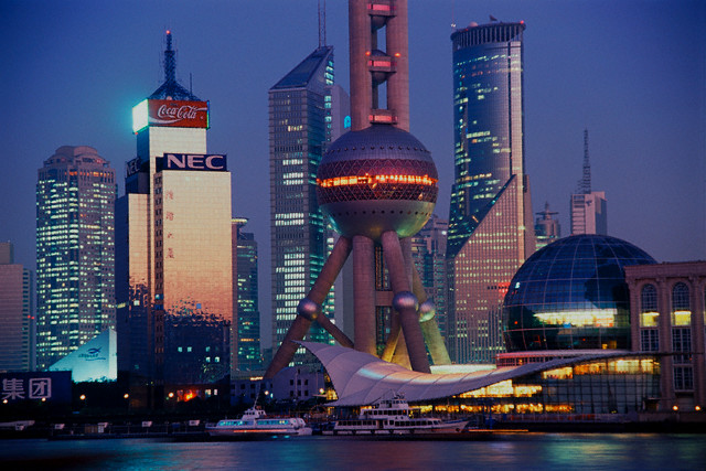 Шанхай-Архитектура