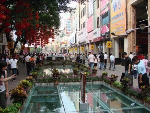 Шопинг в современном Гуанчжоу