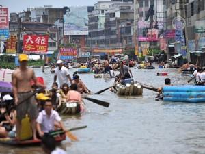 СМИ Китая замалчивают проблемы наводнения