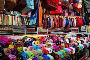 Самые крупные рынки тканей и фурнитуры в Китае