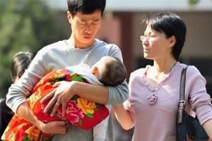 Семьям Китая разрешено иметь более одного малыша