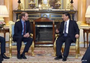 Си Цзиньпин встречался с герцогом Кембриджским, принцем Уильямом