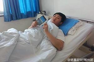 Смартфон спас жизнь мужчины, на которого обрушилась стена