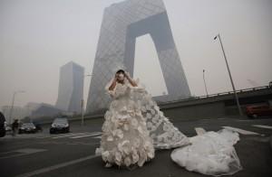 Смог в Китае опасен для здоровья1