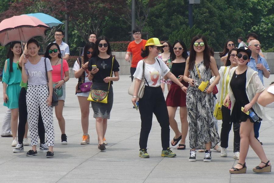 Современная мода Китая