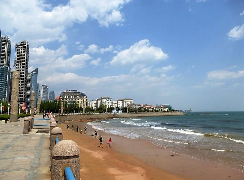 пляжи Циндао