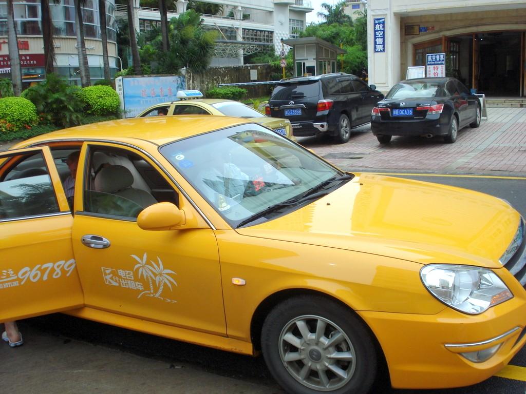 Такси и таксисты в Китае