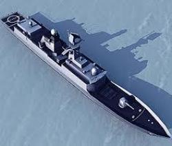 Type 057 – новый китайский фрегат