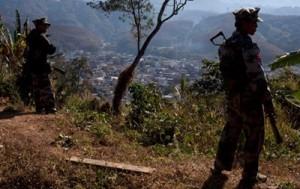 У китайской границы в Мьянме идут ожесточенные бои