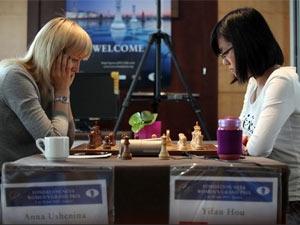 Родные стены помогли в первой партии матча за шахматную корону в Тайчжоу