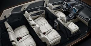 В 2015 году на рынке Поднебесной появится семиместный Ford Edge Limited