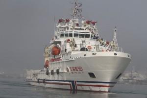 В Индонезию прибыло огромное китайское спасательное судно