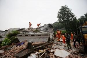 В Китае из-за землетрясения пострадали 199 человек