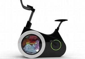 В Китае изобрели стиральную машину-велосипед