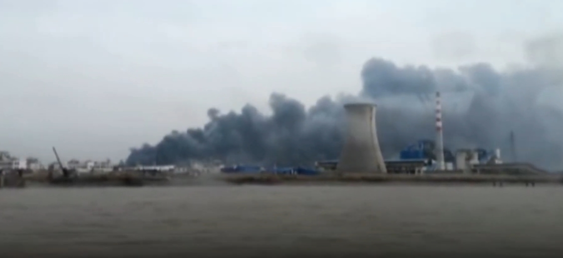 В Китае на химическом заводе произошел взрыв погибли 62 человека