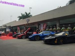 В Китае открылся автосалон по продаже самых дорогих автокаров в мире2