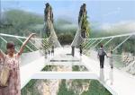 В Китае открывают самый высокий в мире стеклянный мост