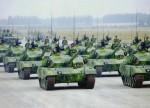 В Китае показали экстремальный дрифт на танках