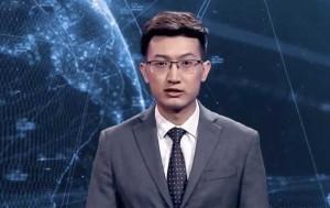 В Китае показали первого цифрового ведущего