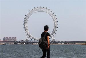 В Китае построили чудо-аттракцион