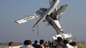 В Китае потерпел крушение самолет-амфибия