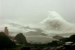 В Китае повысился уровень опасности из-за приближения тайфуна Krosa