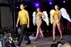 В Китае продемонстрировали золотой лифчик