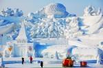 В Китае проходит фестиваль снега и льда