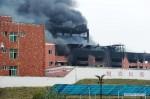 В Китае произошел сильный взрыв на заводе химикатов