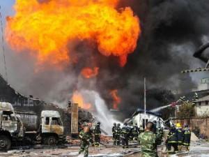 В Китае произошел взрыв в жилом доме