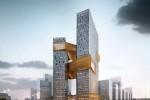В Китае возведут небоскреб с золотым поясом