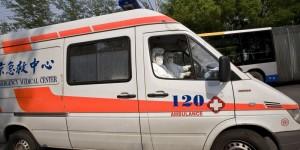 В Китае взорвался автобус